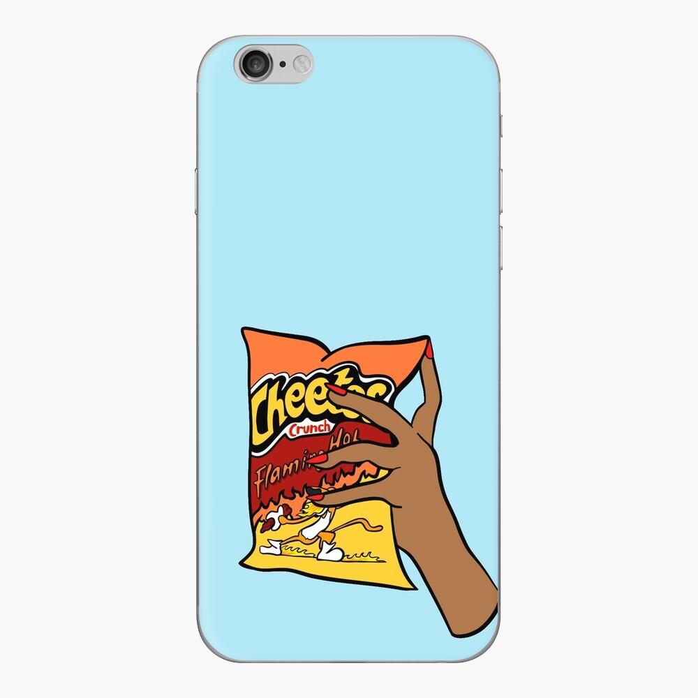 Flammende heiße Cheetos iPhone Klebefolie