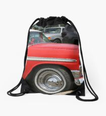 Parked Chevy Drawstring Bag