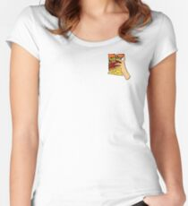 Flaming Hot Cheetos Fitted Scoop T-Shirt