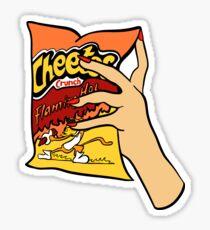 Pegatina Flamantes cheetos calientes