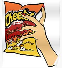 Flaming Hot Cheetos Poster