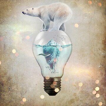 Polar Bear Ice Cap by vinpez