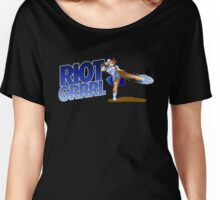 Riot grrrl Women's Relaxed Fit T-Shirt