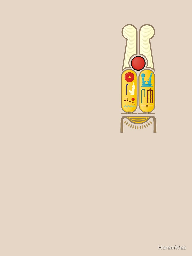 Ramesses the Great's Cartouches by HoremWeb