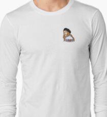Clairo Pretty Girl Portrait Long Sleeve T-Shirt