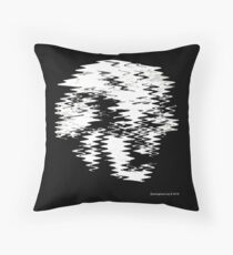 Einstein Waves Throw Pillow