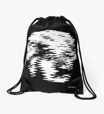 Einstein Waves Drawstring Bag