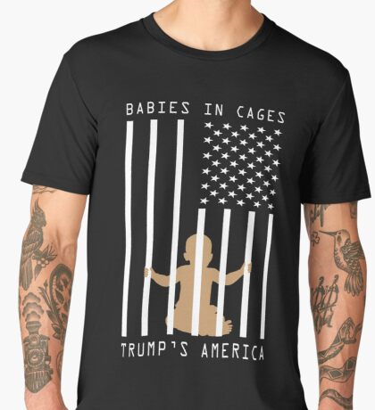 Babies in Cages Trumps America Men's Premium T-Shirt