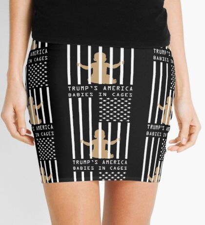 Babies in Cages Trumps America Mini Skirt