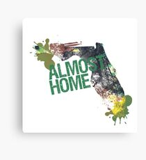 Almost Home - Tallahassee Canvas Print