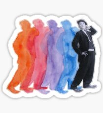 Buster's Silhouettes Sticker
