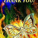 Giving Thanks - Butterfly by Linda Callaghan