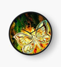Giving Thanks - Butterfly Clock
