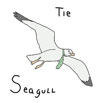 Tie Seagull! by GuyBlank