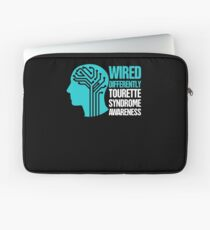 Wired - Tourette Syndrome Awareness Gift Laptop Sleeve