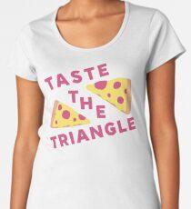 Taste The Triangle Premium Scoop T-Shirt