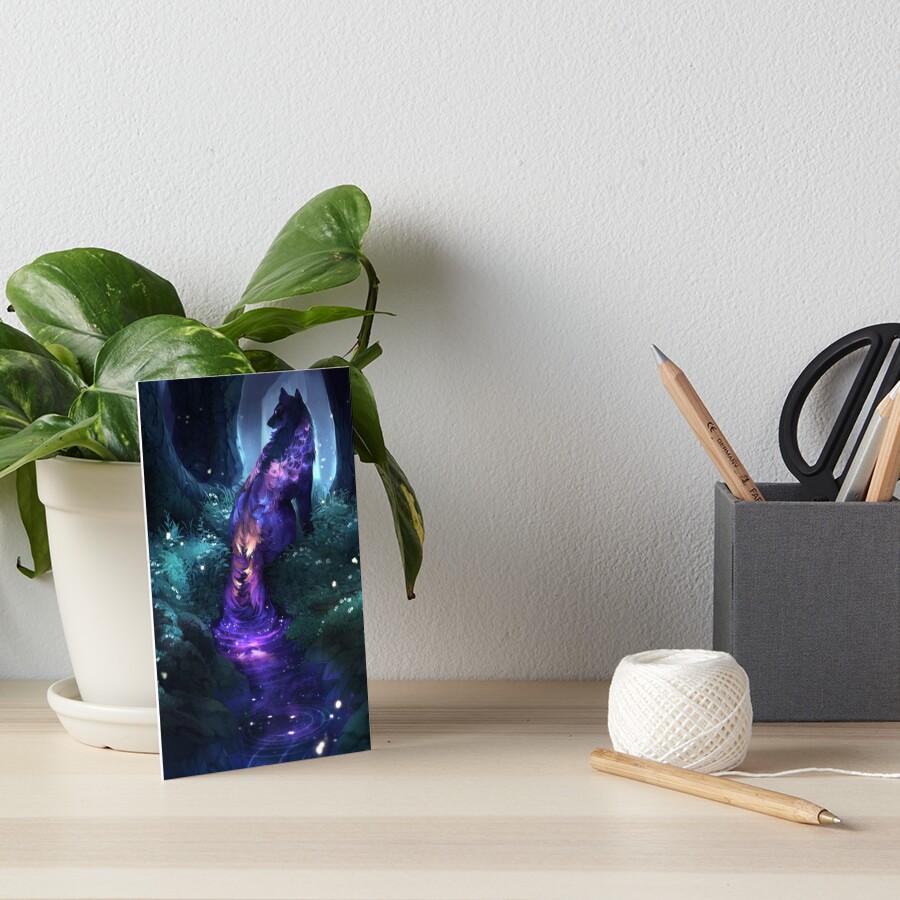 luminous Art Board Print