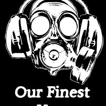 Gas Mask Design by RoDesignsShirts