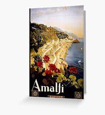 Amalfi, Italia Greeting Card