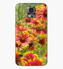 Funda/vinilo para Samsung Galaxy A Little Patch of Indian Paintbrush