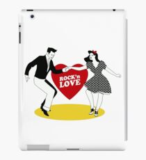 Rock N Roll Love iPad Case/Skin