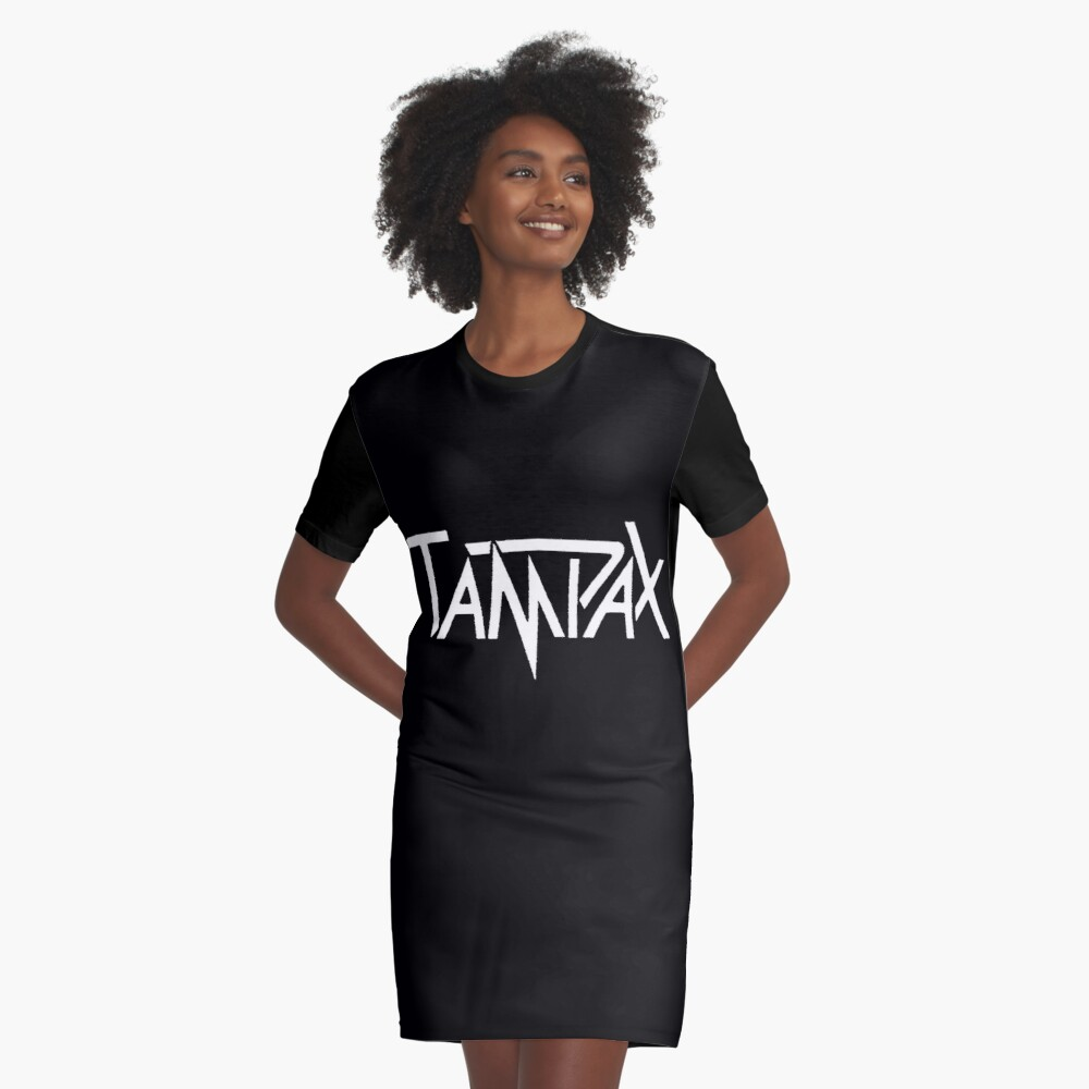 Tampax T-Shirt Kleid