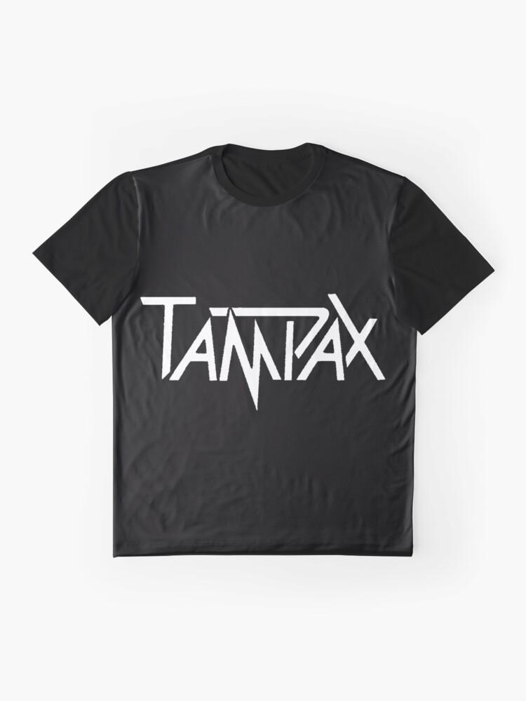 Alternative Ansicht von Tampax Grafik T-Shirt