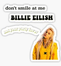 Billie Eilish sticker set Sticker