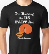 The US Fair and Reciprocal Tariff (FART) Act Slim Fit T-Shirt