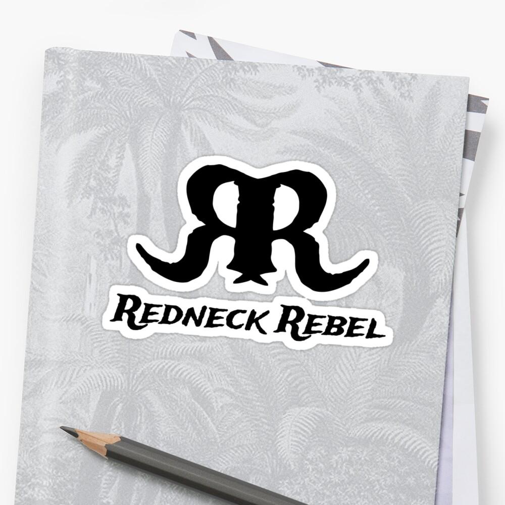 Redneck Rebel Appeal Sticker