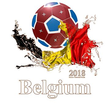 Belgium Soccer Team 2018 Football Fan T-Shirt by DRESS-LUST