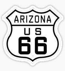 Arizona Route 66 Sticker