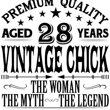 VINTAGE CHICK AGED 28 YEARS by parliament