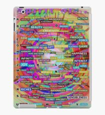 Positive Dictionary - English : Color 3 iPad Case/Skin