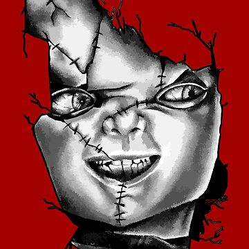 Chucky Face by biggeek