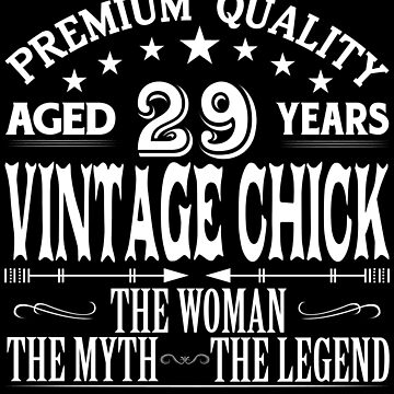 VINTAGE CHICK AGED 29 YEARS by parliament