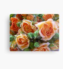 Roses and Buds Metal Print