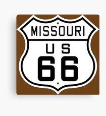 Missouri Route 66 Canvas Print