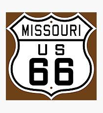 Missouri Route 66 Photographic Print