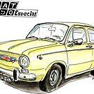 SEAT 850 by Jorge Antunes