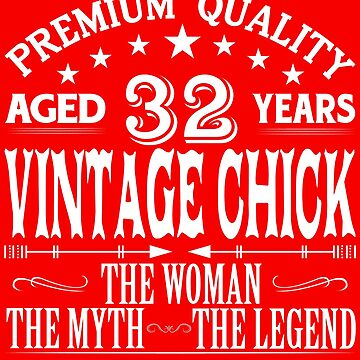 VINTAGE CHICK AGED 32 YEARS by parliament