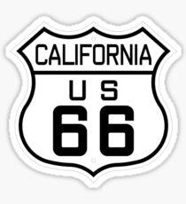California Route 66 Sticker
