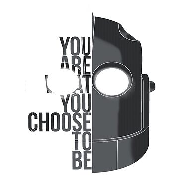 You are what you choose to be - The Iron Giant by ColioMango