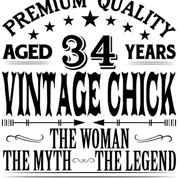 VINTAGE CHICK AGED 34 YEARS by parliament
