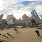 """Cloud Gate, or as we know it...""""The Bean"""" by Jim Stiles"""
