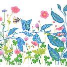 sleeping thumbelina spring fairy tale by EllenLambrichts