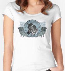 Zabrazauber Tailliertes Rundhals-Shirt
