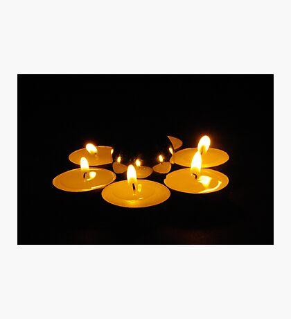 candlelit sphere Photographic Print