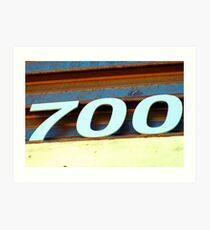 Seven Hundred Art Print