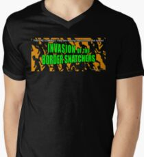 Invasion of the Border Snatchers Men's V-Neck T-Shirt